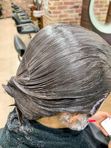 さらに艶髪向上!アールカラーダメージレス施術